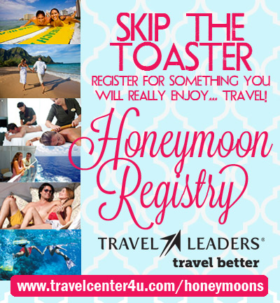 Skip the Toaster! Register for a Honeymoon!